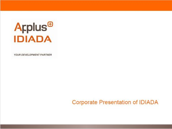 corporate presentation Applus IDIADA
